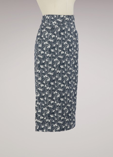 RoseannaLauren cotton skirt