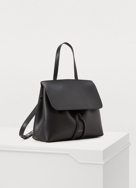 Mansur GavrielVegetable-tanned leather Mini Lady bag
