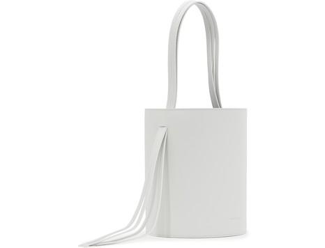 MANSUR GAVRIELFringed leather bucket bag