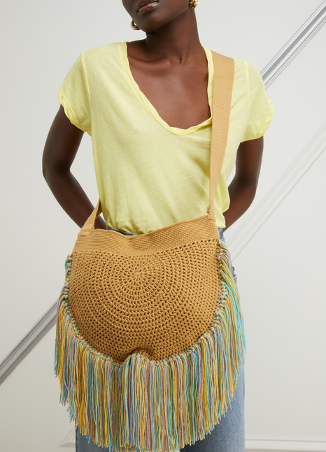 SORAYA HENNESSYFringes shoulder bag