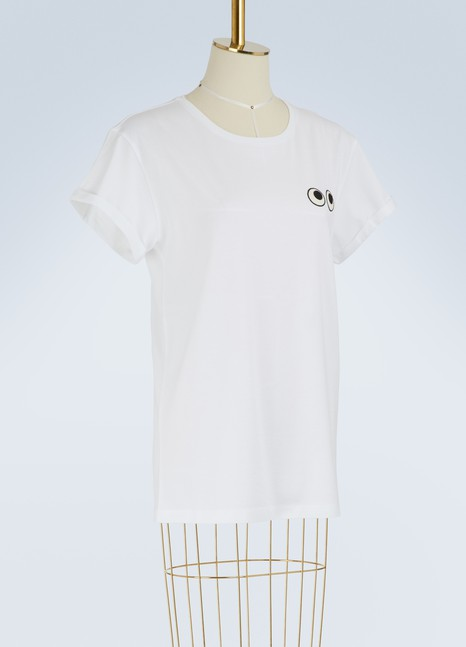 Anya Hindmarch T-shirt Eyes en coton