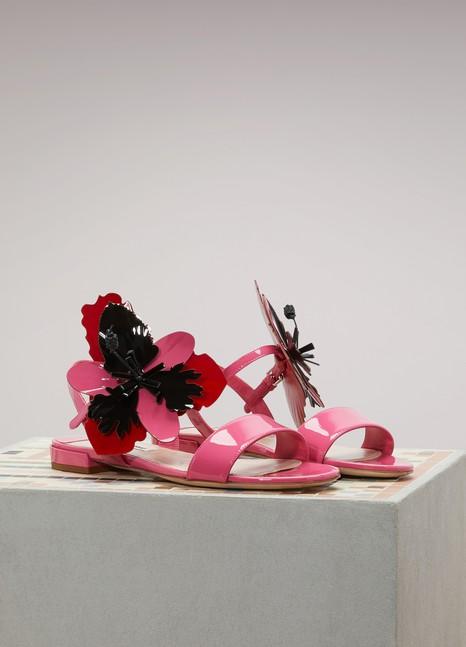 Miu MiuFlower flat sandals