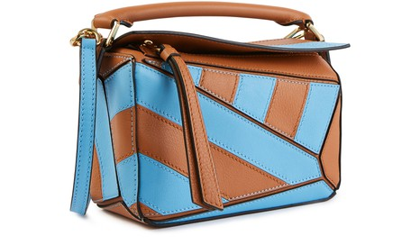 LOEWE Mini Puzzle Rugby shoulder bag