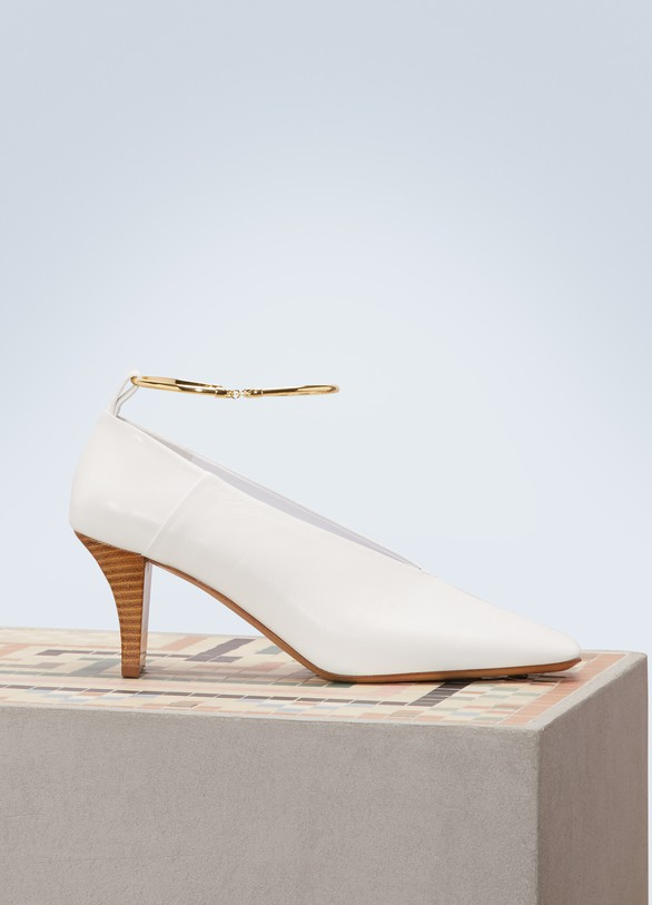 Jil Sander Ring pumps