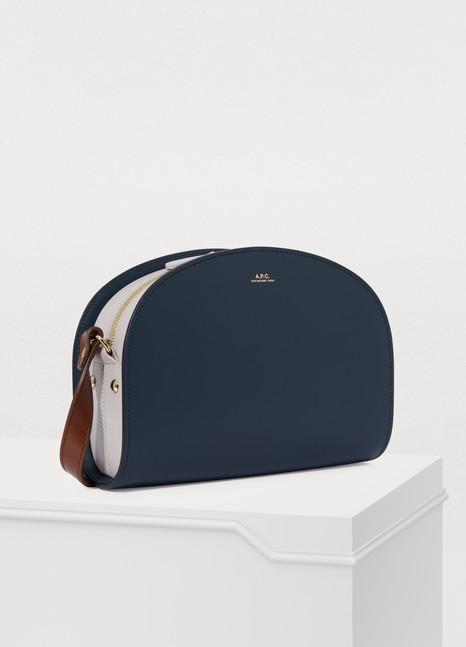 A.P.C.Three-tone Half-moon bag