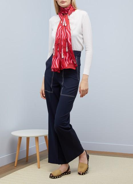 ValentinoLipstick scarf