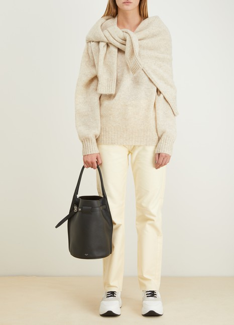 Céline Big Bag Bucket in supple grained calfskin