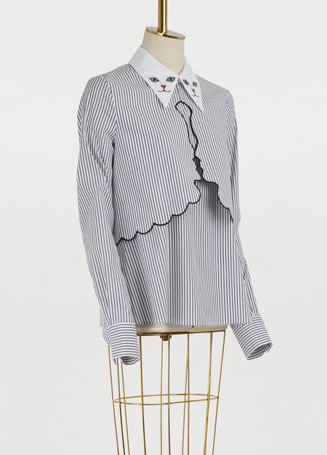 VivettaCat collar shirt