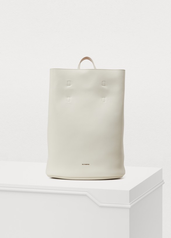 Jil Sander Blossom leather bag