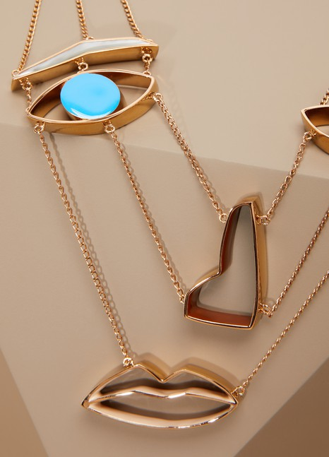 Stella McCartney Collier Face