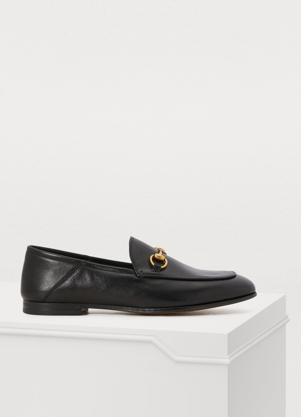 GucciLeather Horsebit loafer