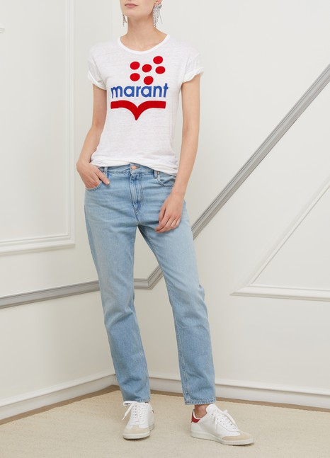 ETOILE ISABEL MARANTCliff cotton jeans