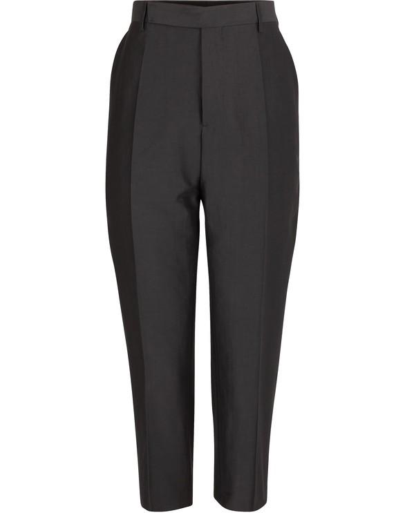 RICK OWENSCotton and silk pants