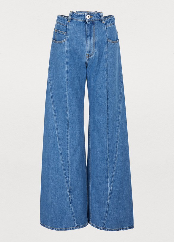 Maison MargielaWide leg jeans