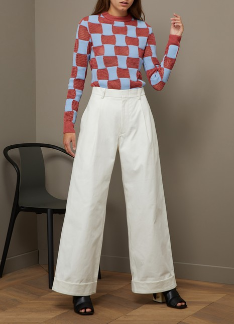 Sofie d'Hoore Cotton trousers
