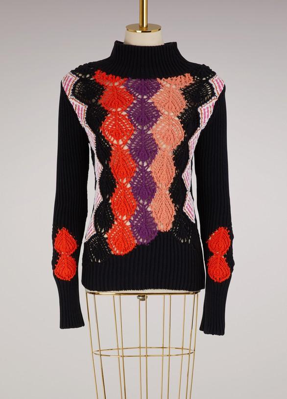 Peter PilottoCrochet sweater
