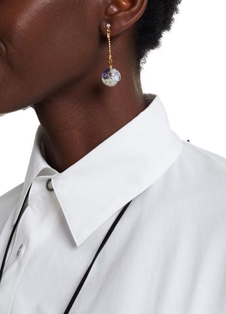 ANREALAGEAcrylic Flower earrings