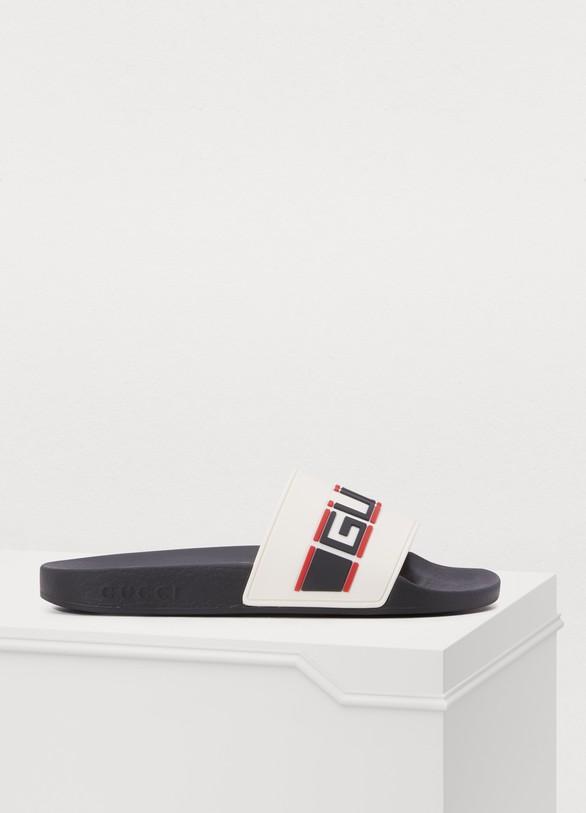 slippers sport pursuit femme | gucci | 24 sèvres