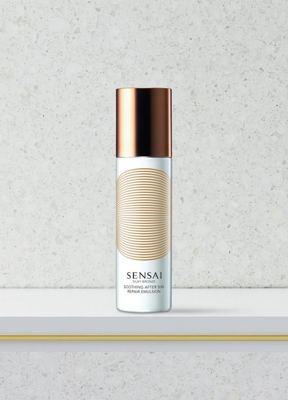 SensaiSilky Bronze Emulsion Réparatrice et Apaisante Après-Soleil