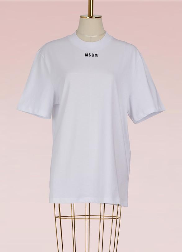 MSGMT-shirt overzise avec logo