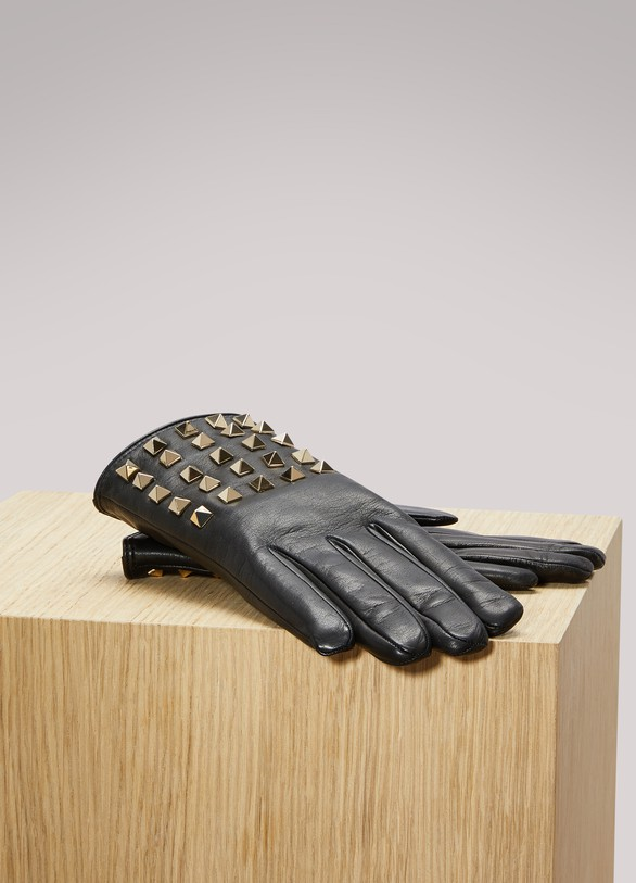 Valentino Studs Gloves