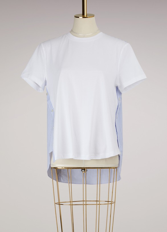 Opening Ceremony Cotton Striped T-Shirt