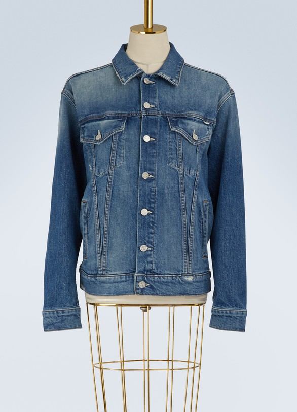 MotherDrifter oversized jean jacket