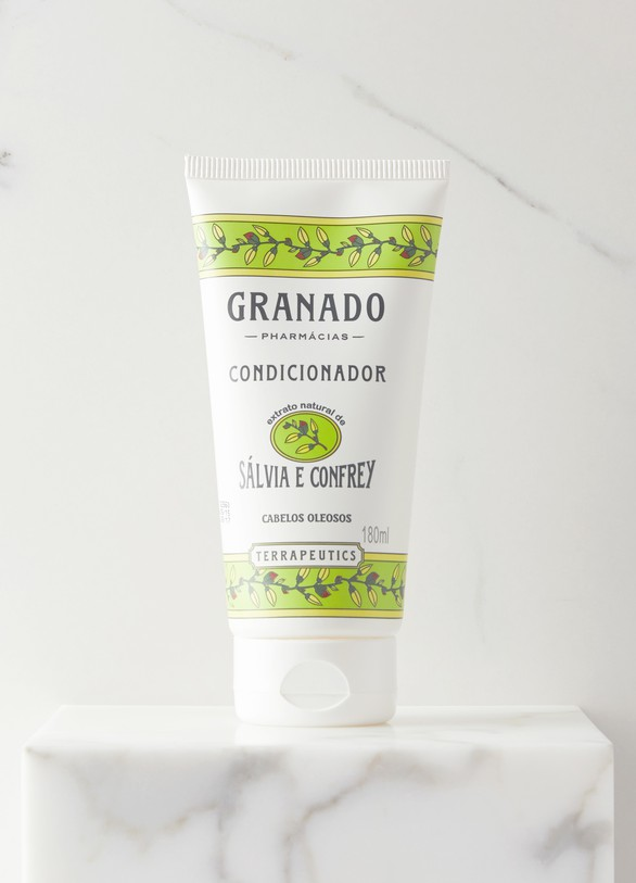GRANADOAprès-shampooing sauge et camphre 180 ml