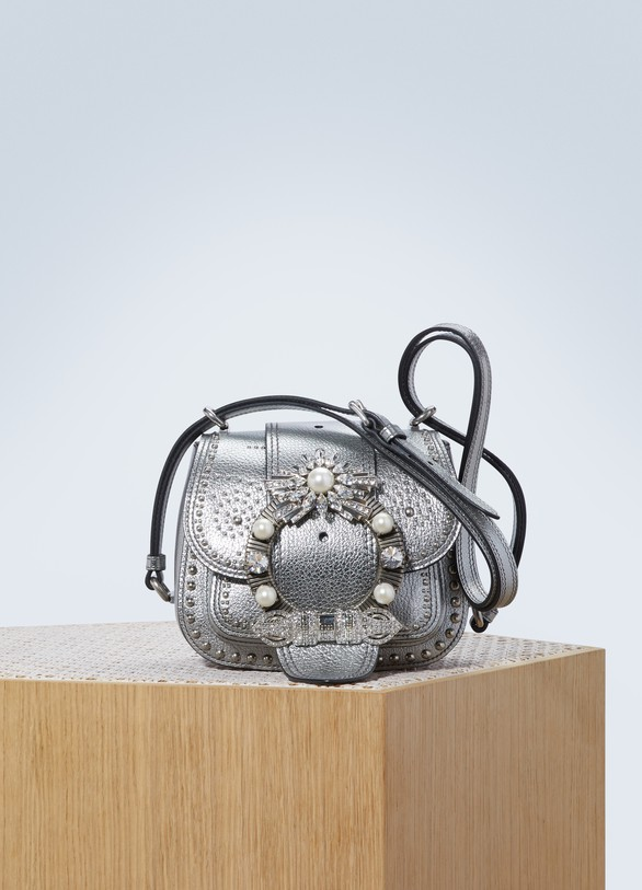 Miu Miu Dahlia studded bag