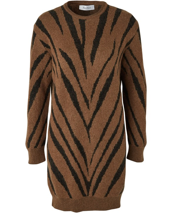 MAX MARA Mohair blend dress