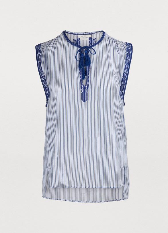 890024d73db06c Isabel Marant Etoile Juditha cotton top