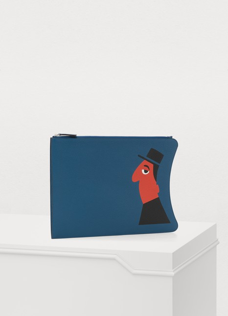 MoynatMichel Leather Pouch