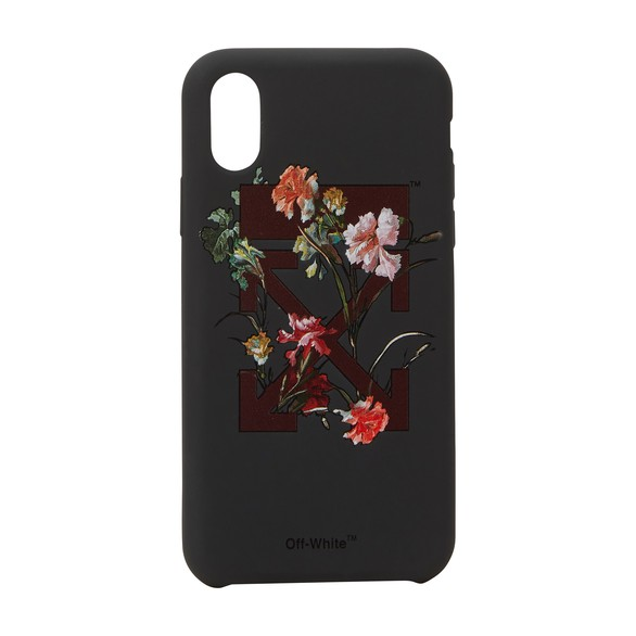 OFF-WHITE Flowers iPhone X case