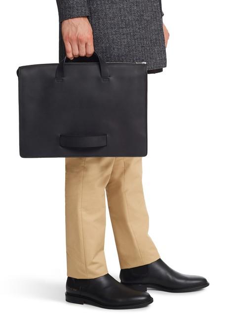 LE FEUILLETLeather briefcase