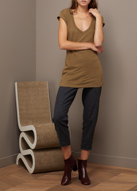 Isabel Marant EtoileT-shirt Zanky en lin