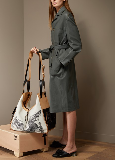 STOULS Alfred Leather Trench