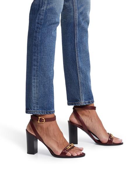 CELINETriomphe sandals in calfskin