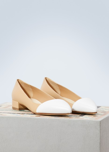 Francesco Russo Asymmetrical ballerinas