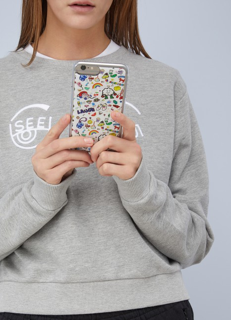 Mira Mikati Coque logo IPhone 7+
