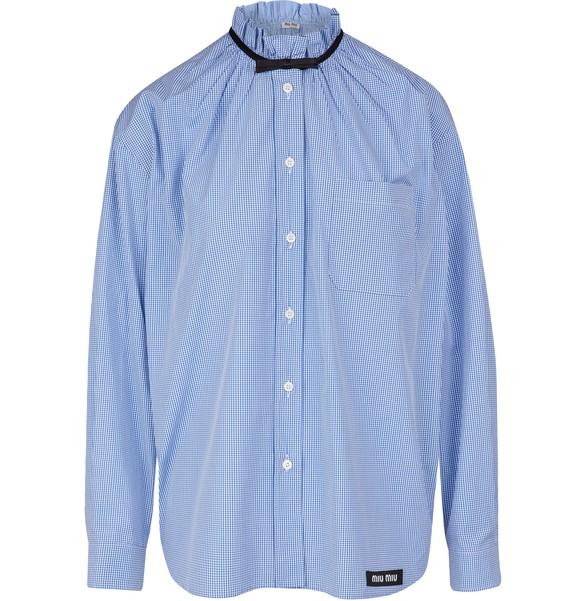 MIU MIUGingham shirt