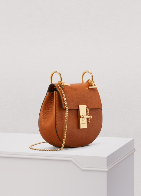 Chloé Mini Drew grain lamskin Shoulder Bag
