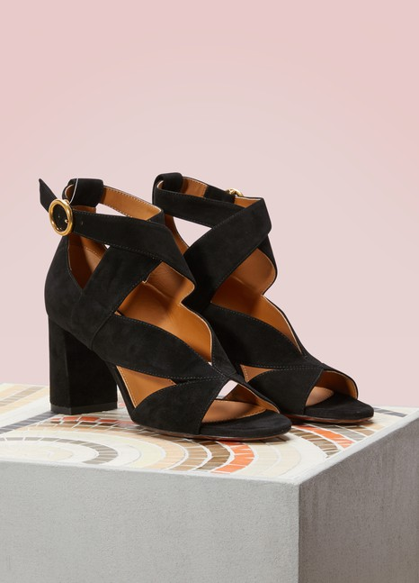 ChloéNils suede sandals