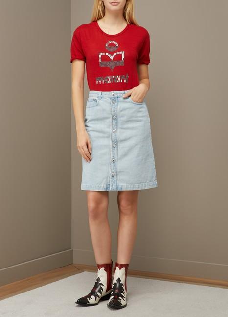 Isabel Marant EtoileT-shirt Koldi en lin