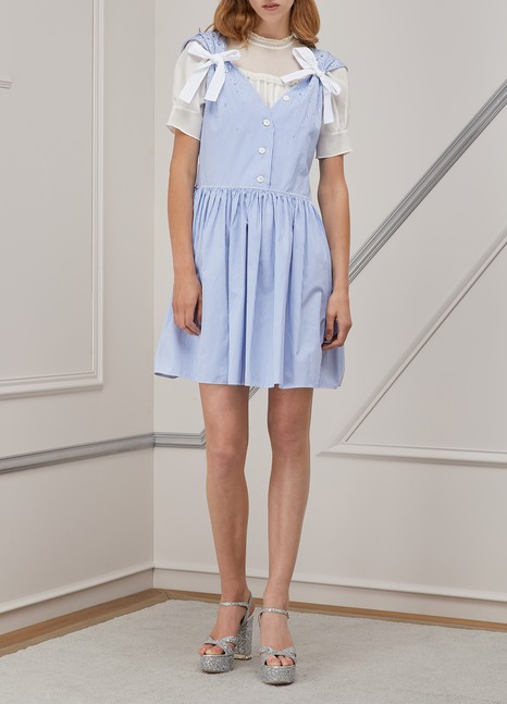 Miu MiuPopeline dress