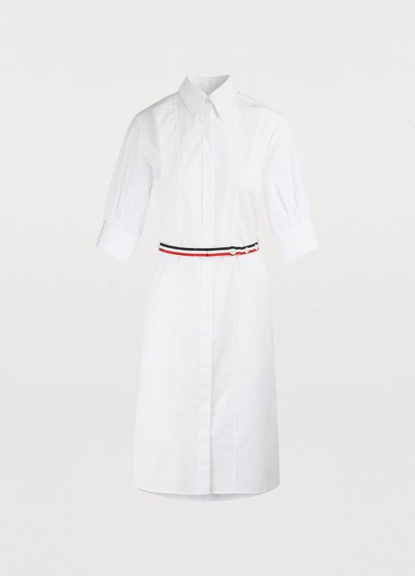 Thom BrowneRobe chemise en coton