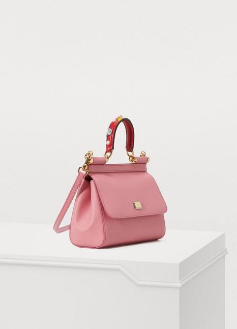 Dolce & GabbanaSac porté épaule Sicily PM