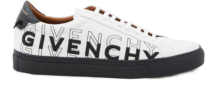 Givenchy Sneakers Mit Logo-Stickerei In White / Black