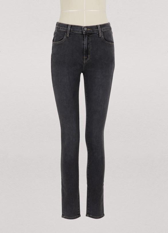 J BrandMaria high-waisted skinny jeans