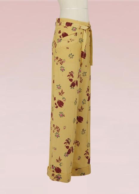 ValentinoPantalon pyjama en soie