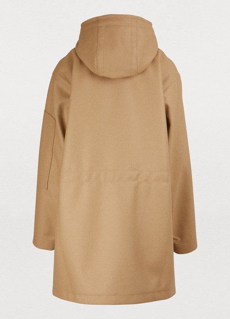SOFIE D'HOOREFelted wool coat.